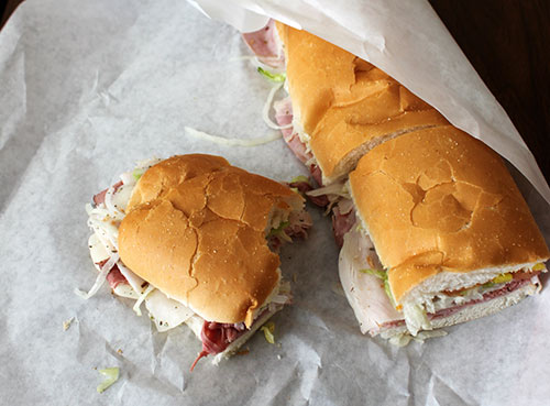 Jersey Giant Sub Sandwiches